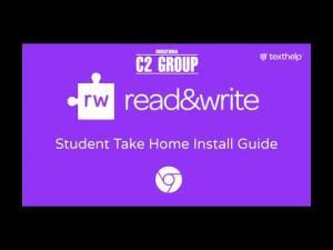 Installare Read&Write Texthelp da Google Chrome per studenti