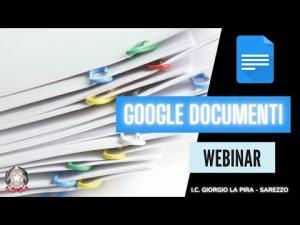 Documenti e creazione di E-book- Webinar prof. Manenti