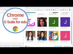 Usare Chrome: sincronizzazione  tra Gmail e Gsuite