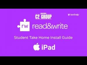 Installare Read&Write Texthelp da Ipad - Guida per studenti